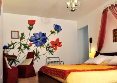 Décoration murale de l'appartement Anémone