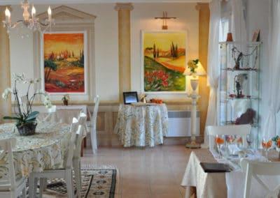 Décoration intérieure par Maia à l'Hôtel Villa Elaia