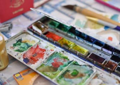 Boîte à aquarelle - Artgalerie Elaia