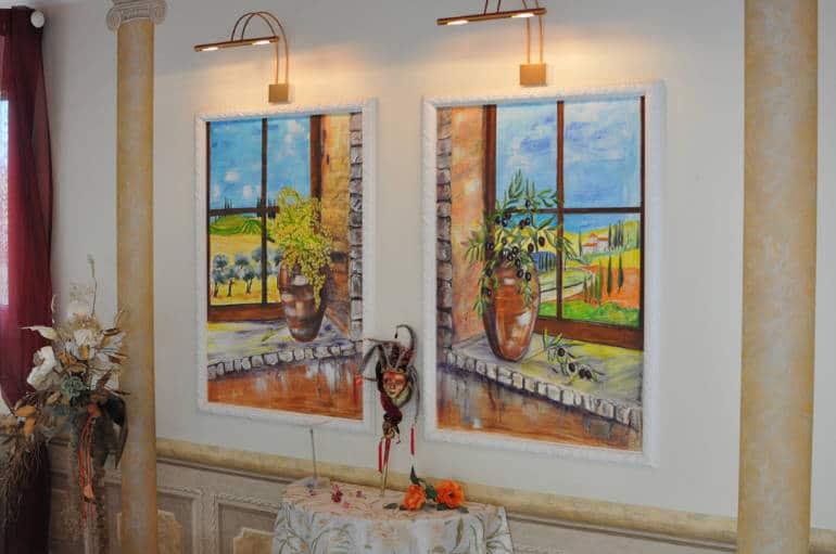 Décoration murale Maia - Hôtel Villa Elaia