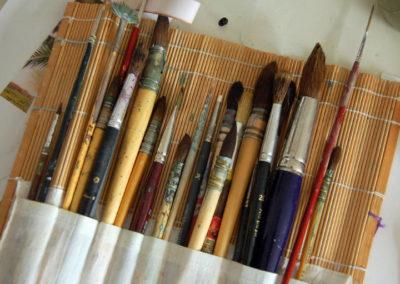 Pinceau à aquarelle